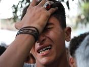 गज़ा में 'मौत के खेल' के बाद फिर हिंसा की आशंका